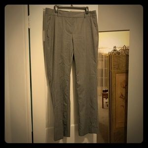 J. Crew Lightweight Grey Wool Trousers